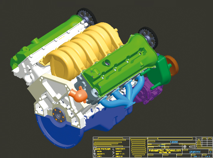 3D CAD Software - Creo Produce Draw