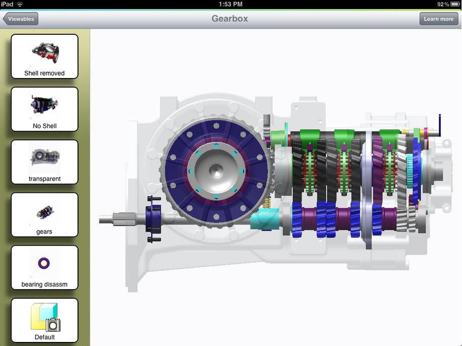 Creo App PTC Creo View Mobile
