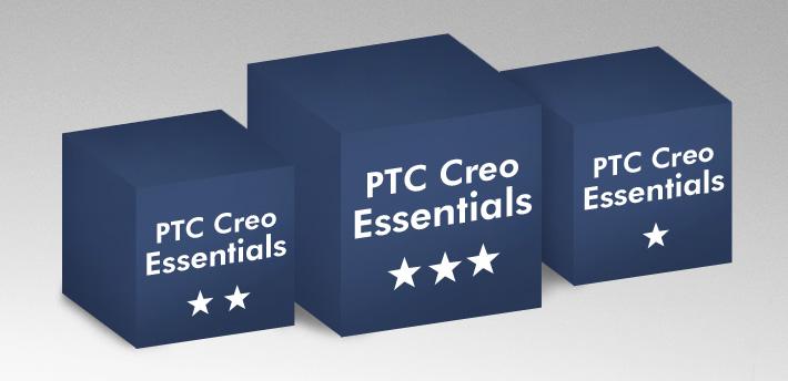 Creo Parametric-Essentials Pakete