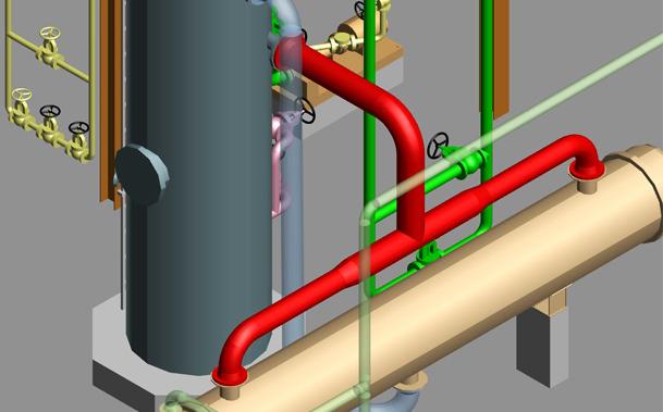 m4 iso Rohrleitungsverlauf